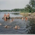 Huhtakari lastenleiri - uimatauko