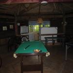Biljardipöytä mutterissa